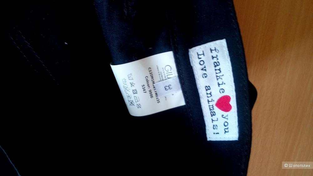 Брюки черные мужские Frankie Morello Италия super skinny fit размер 33/34