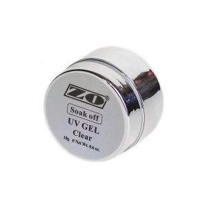 ZO SOAK-OFF UV GEL биогель прозрачный 18 мл (снятие растворением)
