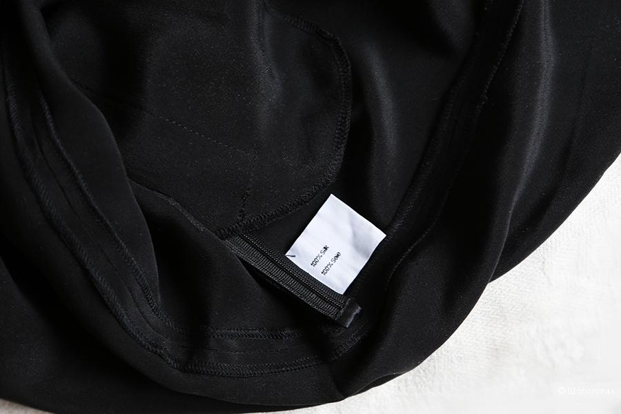 Новое шелковое черное платье UK10, Unconditional