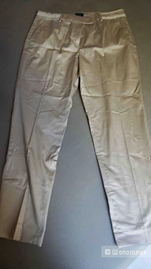 Летние брюки-сигареты Cyrillus 46 (M) бежевые