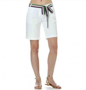 Женские белые летние шорты Fred Perry рос. 42 размер