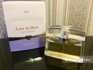 Новый оригинальный Парфюм Nina Ricci Love In Paris