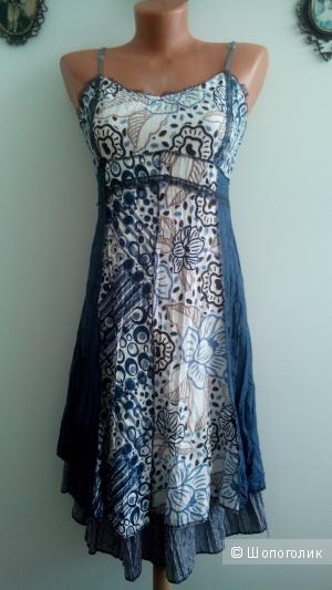 Платье-сарафан в бохо стиле.Франция Т2(44-46)