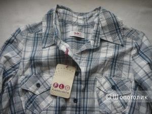 Рубашка в клетку FLG Flashlights Рос размер 42