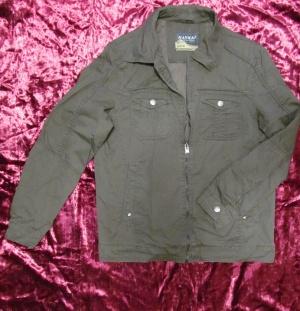 Куртка мужская (ветровка) на осень, весну и прохладное лето из хлопка