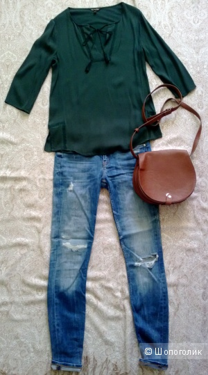 Блуза Massimo Dutti, размер XS
