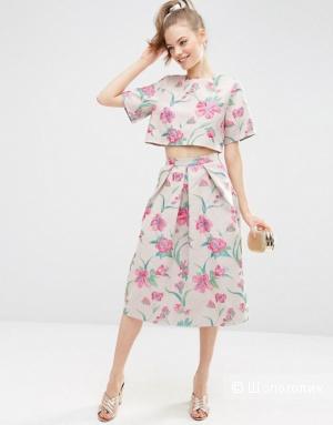 Жаккардовая юбка  ASOS Premium 12 UK (46 росс.)