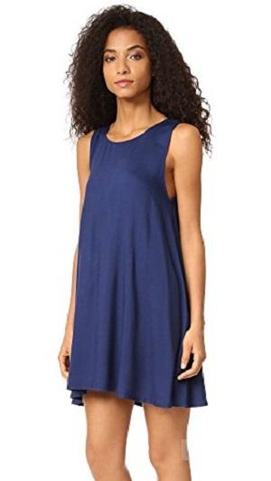 Синее летнее платье мини BB Dakota, новое с бирками / M