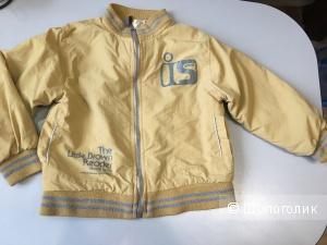 Детская куртка ветровка на мальчика, размер на 4-5 лет.