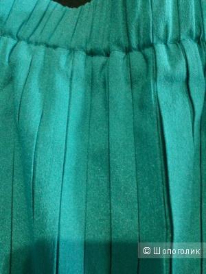 Красивая плиссированая  макси юбка Desir