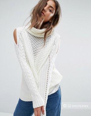 Акриловый свитер Boohoo размер L