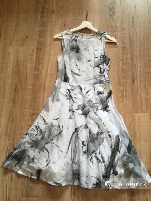 Платье BIZZARRO размер 44 рус, миди, новое, хлопок