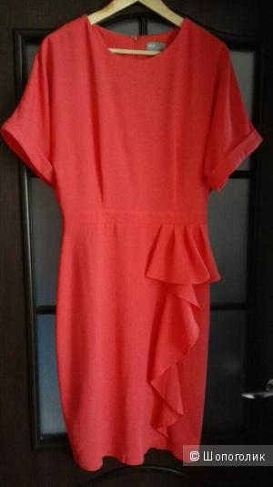 Платье-футляр с каскадной драпировкой ASOS TALL