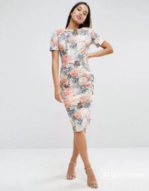 Платье Asos с цветочным принтом