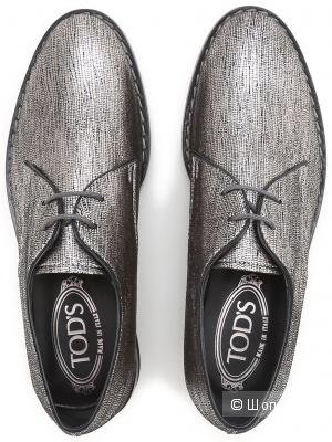 Кожаные туфли дерби Tod's 38