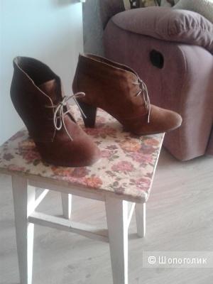 Ботинки женские замша 40 размер Edeis