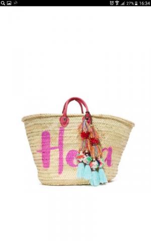 Новая сумка misa из соломы