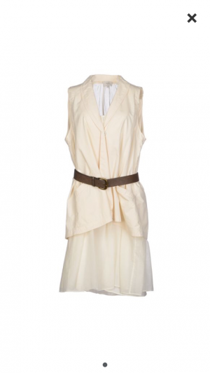 Летнее многослойное платье Hoss Intropia 38ES