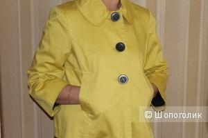 Желтый плащ Mark & Spencer, размер uk12, 44-46 рус.