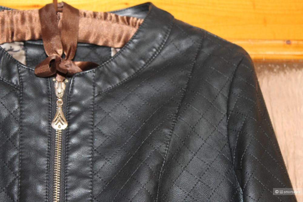 Куртка, цвет черный, размер 44-46