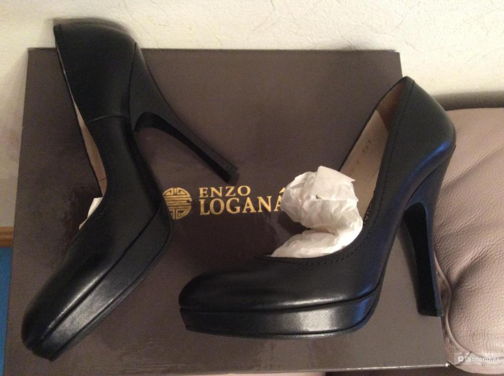 Туфли Enzo Logana 38 размер почти новые