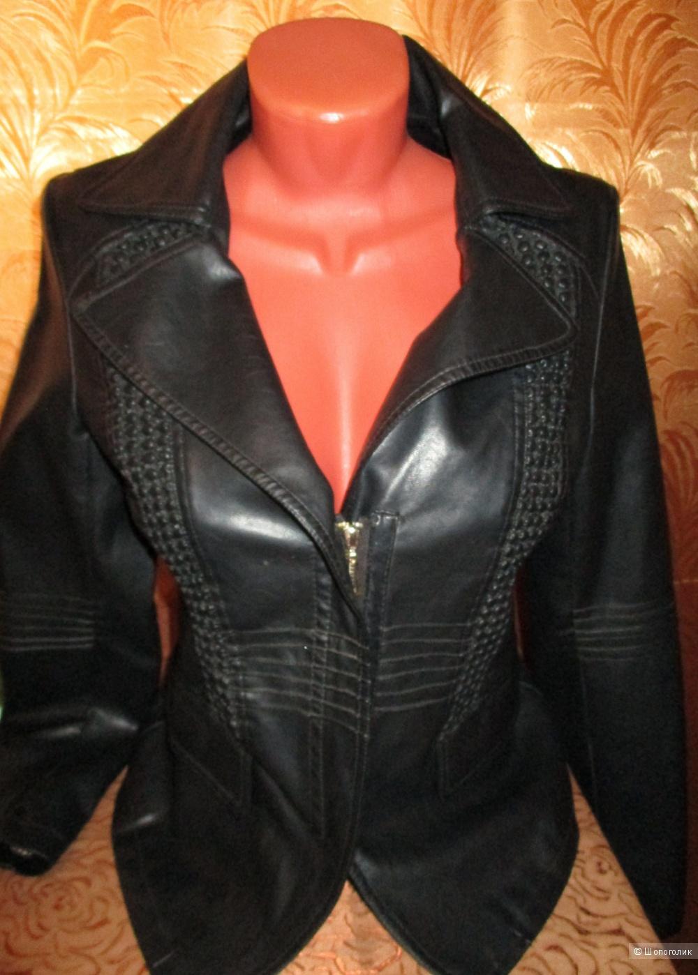 Куртка кожаная натуральная 44-46 размер новая aa570a887f201