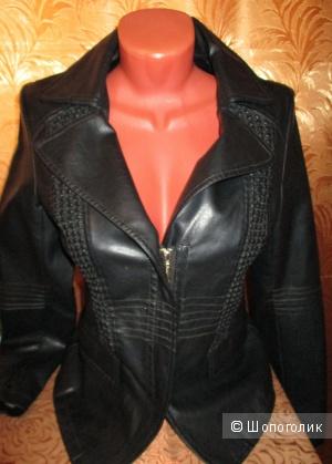 Куртка кожаная натуральная  44-46 размер новая