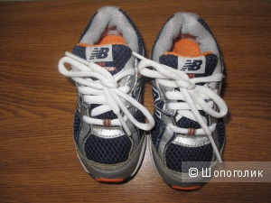 Детские кросовочки (на шнурках) new balance разм. 21.5