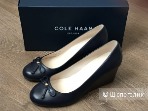 Туфли на танкетке Cole Haan, размер 37,5-38
