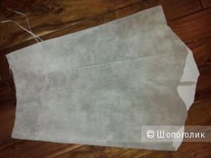 Замшевая юбка Promod ( Франция ) 42-44 размер
