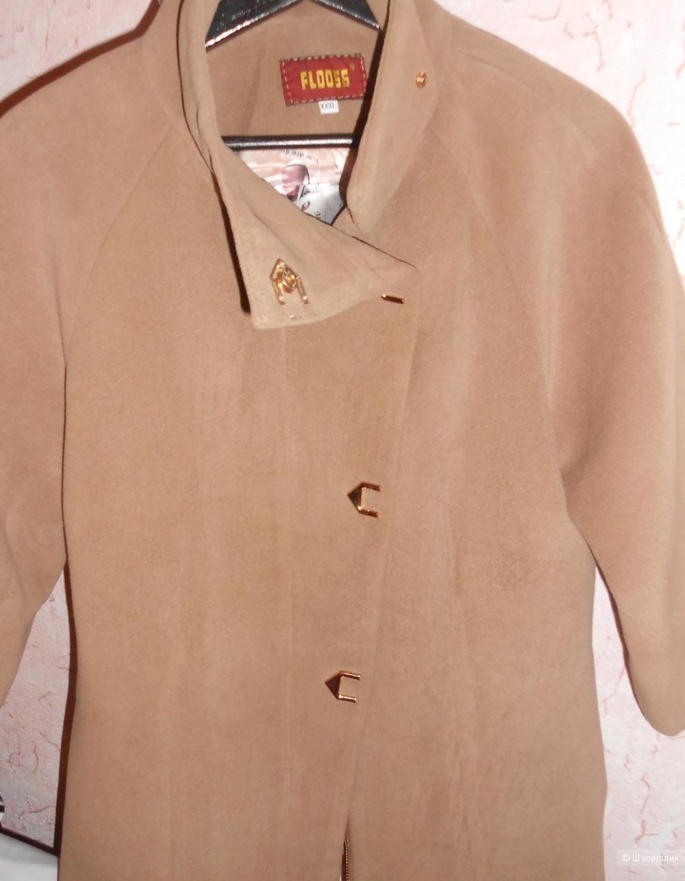 Пальто демисезонное кашемировое  44-46 размера