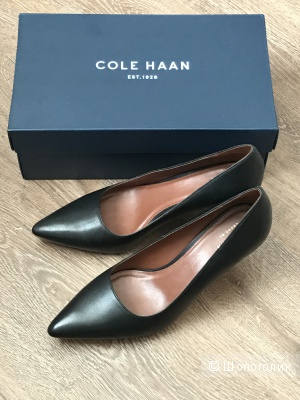 Туфли Cole Haan черные, размер 37,5-38