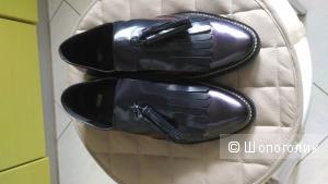 Кожаные туфли с кисточками ASOS MARIELLA Premium
