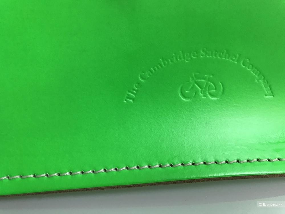 Яркая, салатовая Cambridge Satchel Сумка-портфель. 13'