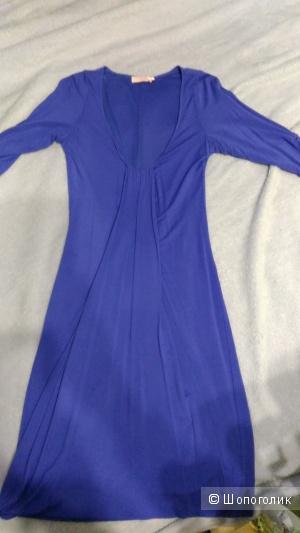 Платье синее размер 40-42