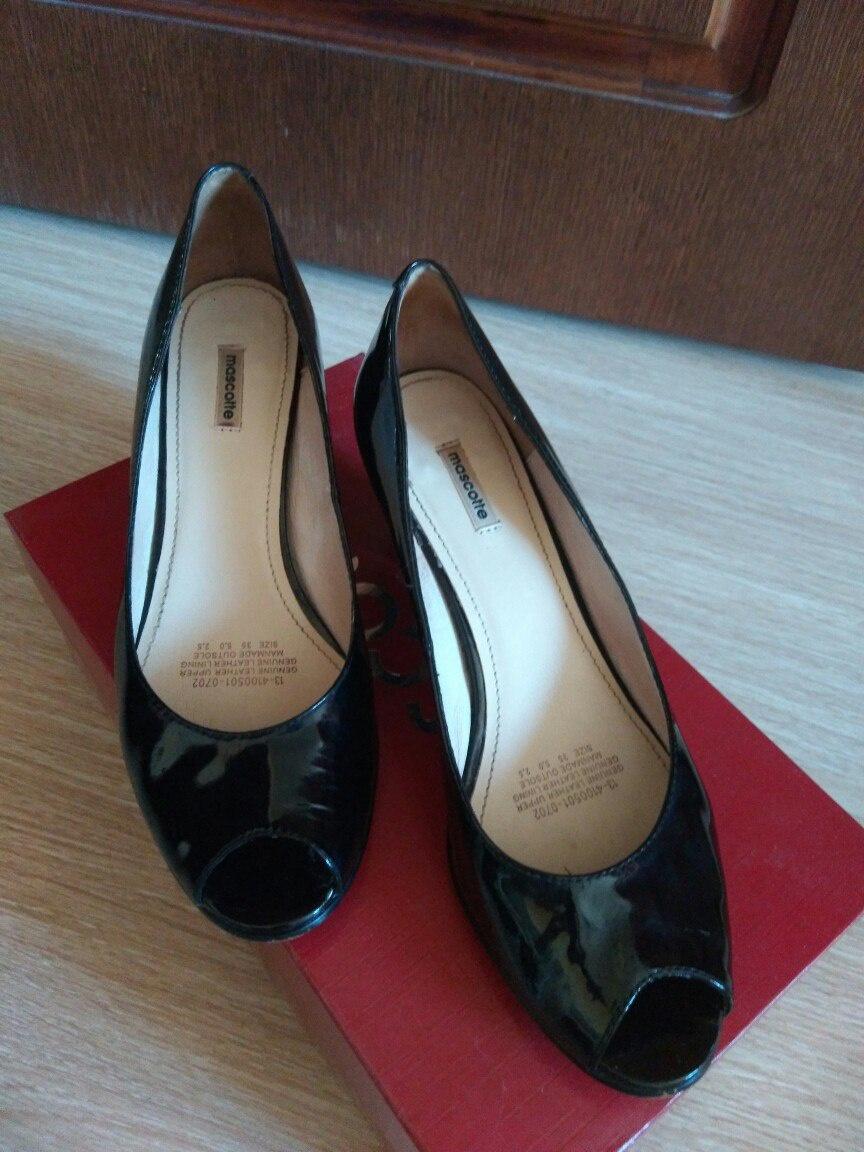 Кожаные туфли Mascotte. Размер 35 (российский).