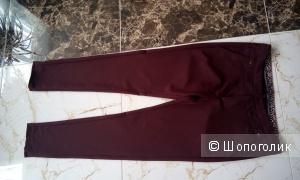 Красивые брюки цвета марсала Miss Moda размер Л