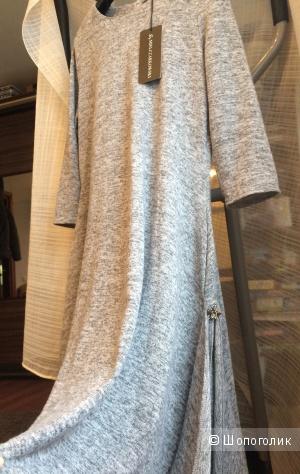 Трикотажное, новое платье, производство Польша, размер М