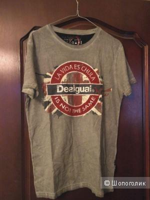 Новая футболка мужская (или унисекс) Desigual 46-48