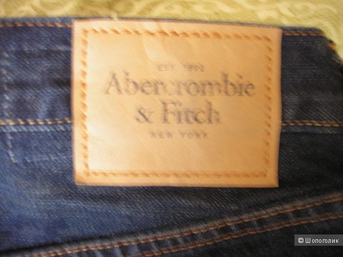 Джинсы мужские Abercrombie & Fitch, размер W32L34