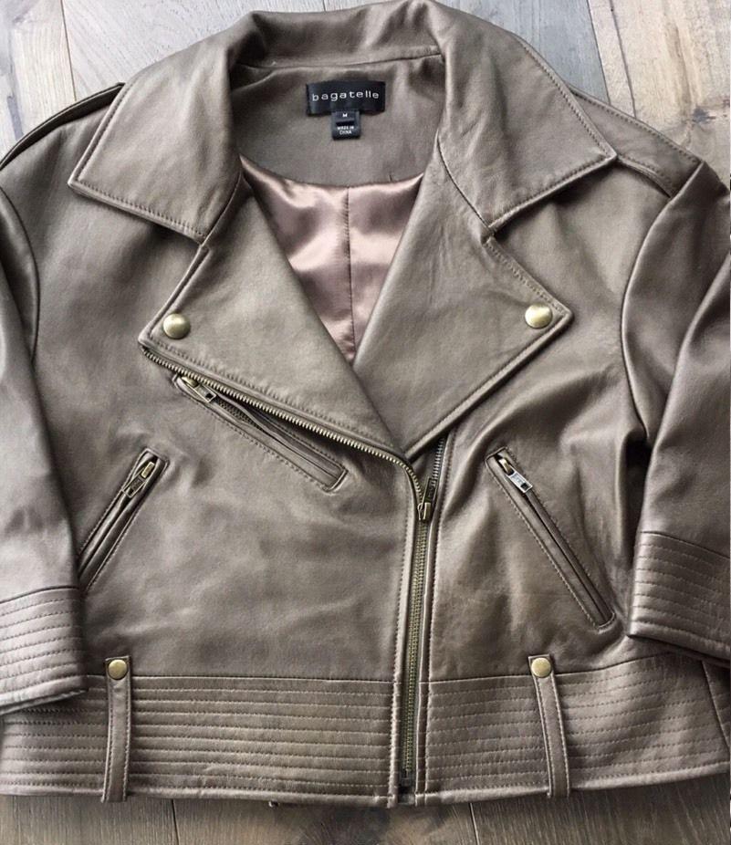 Кожаная куртка Bagatelle