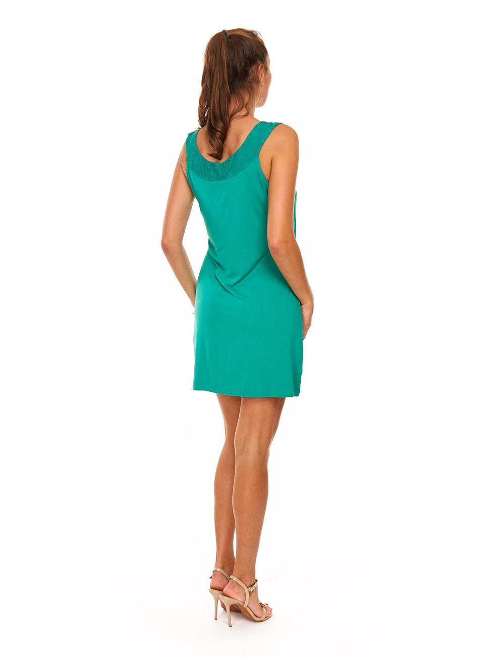 Легкое летнее платье Selection by S.Oliver размер 38 на наш 44-46 красивого зеленого цвета
