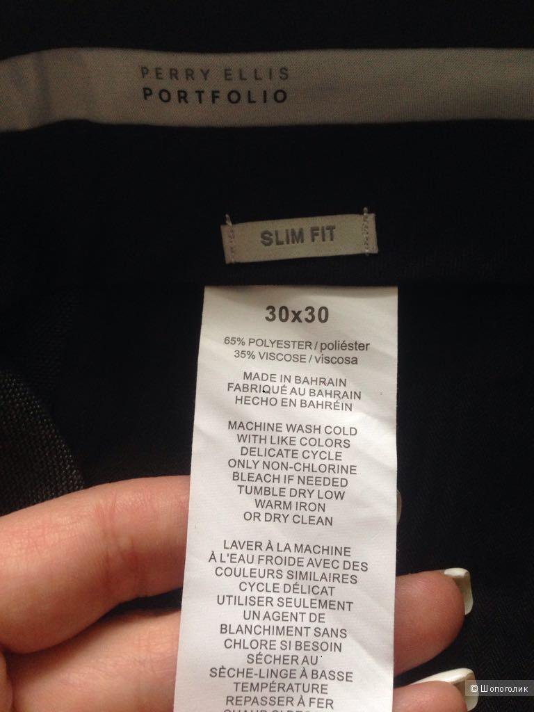 Мужские брюки Perry Ellis  30 размер, состояние новых