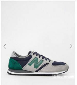 Замшевые кроссовки New Balance 420