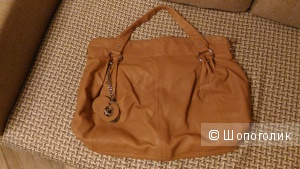 Большая сумка, кожа