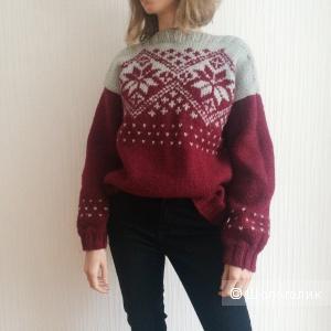 Винтажный свитер 42-44 р-р