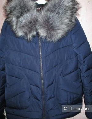 Пуховик зимний 44-48 размера новый