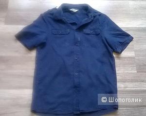 Рубашка  джинсовая H&M для подростка