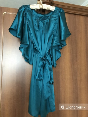 Шелковое платье-туника 44 рр