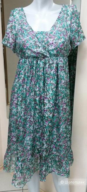 Шелковое платье Morgan 36 франц (40-42  русс)